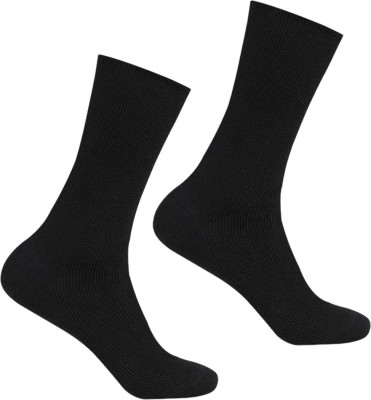 Supersox Mens Solid Crew Length Socks