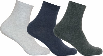 Supersox Mens Solid Ankle Length Socks(Pack of 3)
