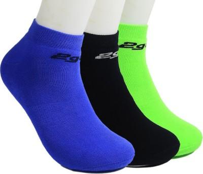 2Go Mens Solid Ankle Length Socks