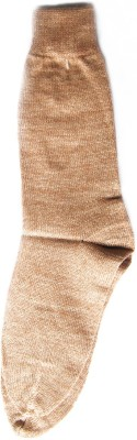 The Modern Knitting Shop Plain Men's Solid Crew Length Socks