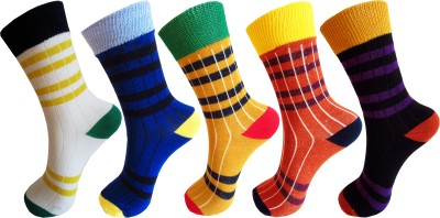 Rc. Royal Class Boys Striped Crew Length Socks