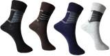 Lira Men's Printed Knee Length Socks