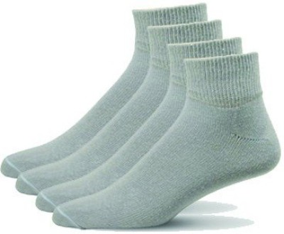 Simon Premium Men's Solid Ankle Length Socks