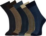 Vinenzia Men's Printed Crew Length Socks...