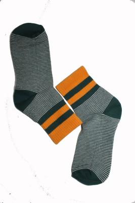 69th Avenue Men's Striped Ankle Length Socks