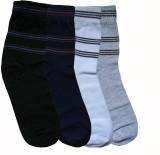 Goyal Knitting Men's Striped Ankle Lengt...
