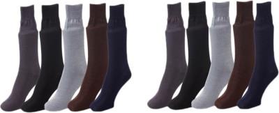 Lotus Leaf Men's Self Design Footie Socks