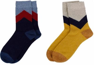 Camey Men's Crew Length Socks