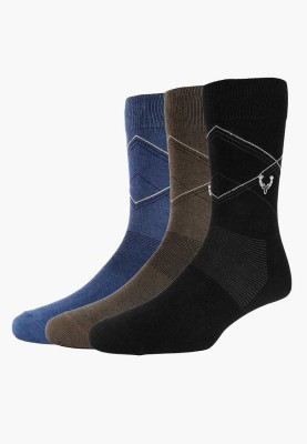 Allen Solly Mens Self Design Mid-calf Length Socks