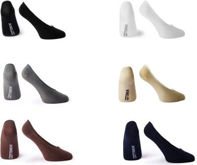 Cottoniche Women's Solid No Show Socks