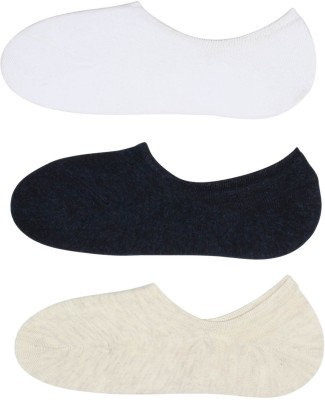 Zobello Men's Solid No Show Socks
