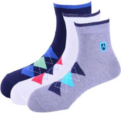 Arrow Men's Graphic Print Ankle Length Socks