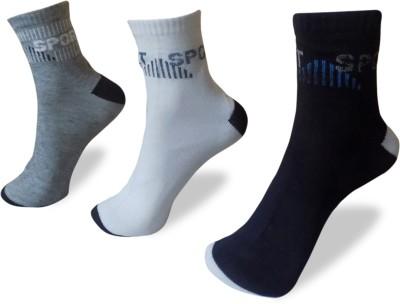 Rege Men's Self Design Ankle Length Socks