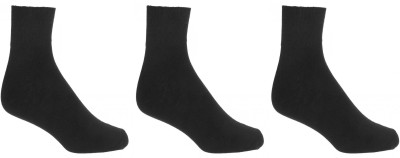 Crystal Men,s Solid Ankle Length Socks