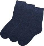 Zobello Men's Woven Crew Length Socks (P...