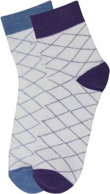 Renzer Men's Graphic Print Crew Length Socks
