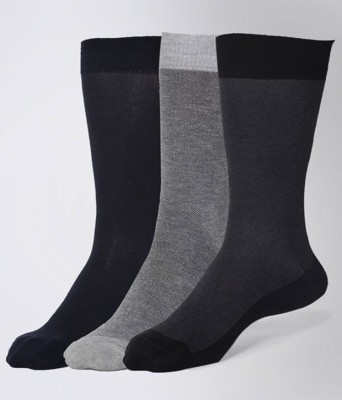 Allen Solly Mens Solid Mid-calf Length Socks