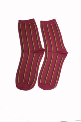 69th Avenue Men's Striped Mid-calf Length Socks