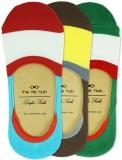 The Tie Hub Men's Striped No Show Socks ...