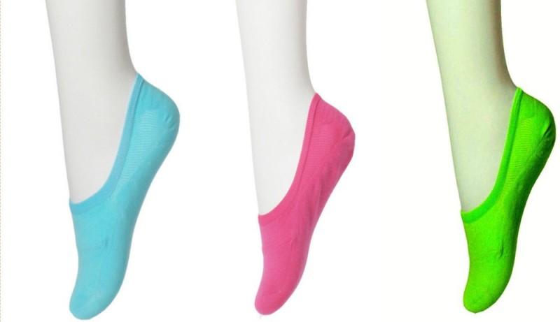 Nxt 2 Skn Women's Solid Footie Socks