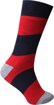 Cottstrings Men's Striped Crew Length Socks