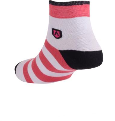 Arrow Men's Striped Ankle Length Socks