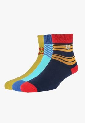 Allen Solly Men's Self Design Quarter Length Socks