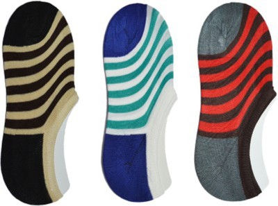 RR Accessories Men's No Show Socks