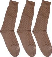 Gen Womens Graphic Print Crew Length Socks(Pack of 3)