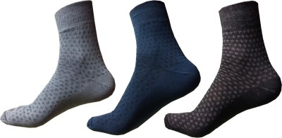 Garg Sport Men,s Printed Ankle Length Socks