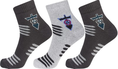 Simon Men's Graphic Print Ankle Length Socks