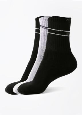 Jockey Men's Striped Crew Length Socks