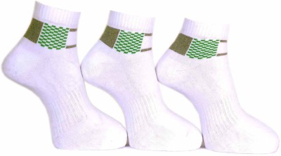 A&G Men's Self Design Ankle Length Socks