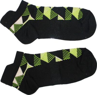 AB PLUS Men's Self Design Low Cut Socks