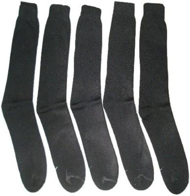 Well Wear Men,s Solid Crew Length Socks