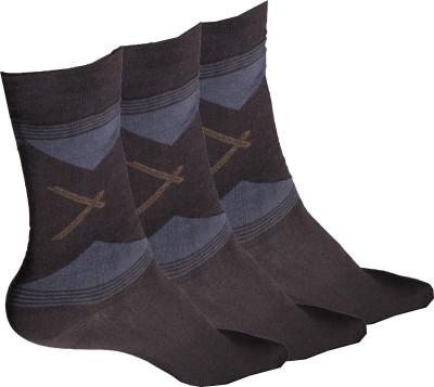 Inner Care Men's Self Design Mid-calf Length Socks
