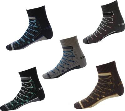 Avm Hw Velvet Men's Graphic Print, Printed Ankle Length Socks