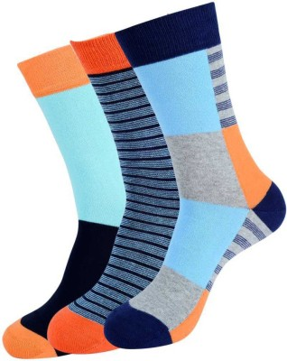 NBA Men's Self Design Crew Length Socks