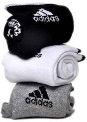 Adidas Mens Self Design Ankle Length Socks