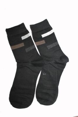 69th Avenue Mens Solid Mid-calf Length Socks