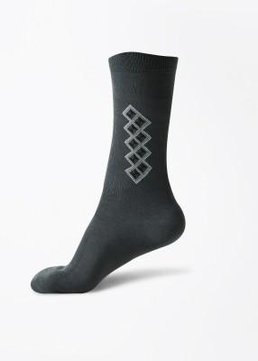 Jockey Men's Printed Crew Length Socks