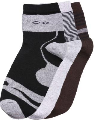 Tossido Mens Printed Ankle Length Socks