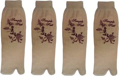 ZACHARIAS Women's Floral Print Ankle Length Socks