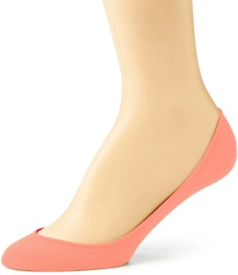 Pink Flamingo Cotton Shoe Liner Women's Solid Ankle Length Socks