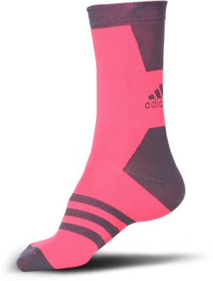 Adidas Mens Solid Crew Length Socks