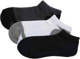 Zobello Men's Woven Ankle Length Socks (...