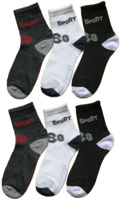 GINWALA Men,s Printed Ankle Length Socks