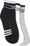 Q-tex Men's Solid Ankle Length Socks (Pa...