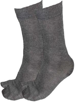 Alfa Woolly Womens Solid Crew Length Socks