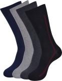 Balenzia Men's Crew Length Socks (Pack o...
